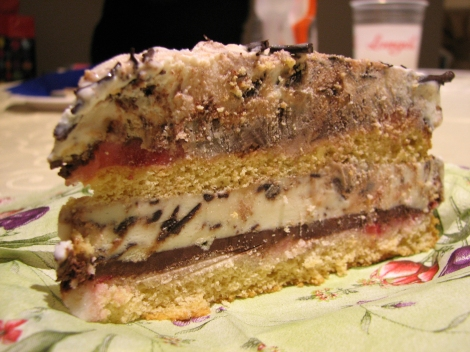 ice cream cake italiana