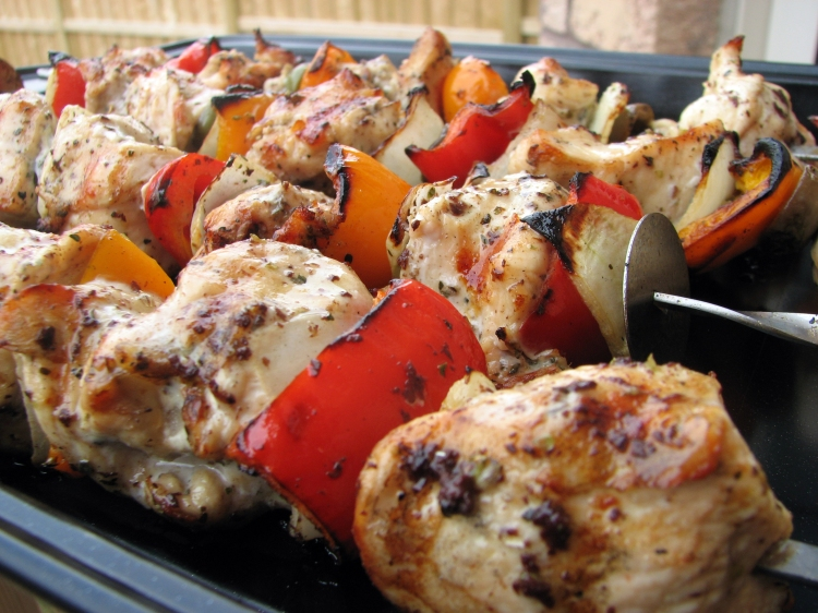 olive chicken shashlik