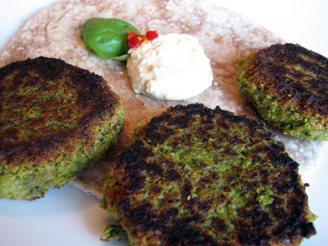 rapini falafel