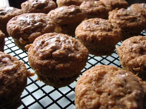 sweet potato pumpkin muffins