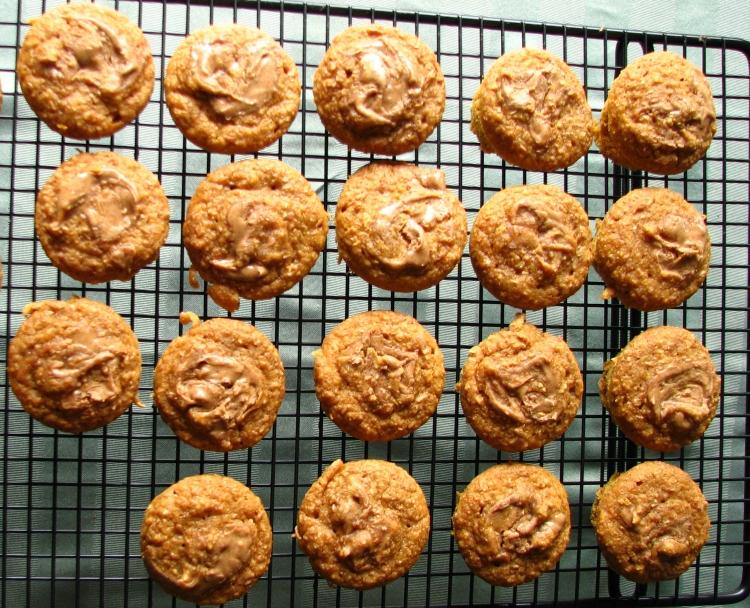 sweet potato pumpkin muffins