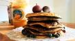 blueberry oat pancakes